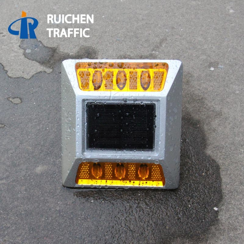 Intelligent Flashing Solar Stud For Road with Reflectors D2