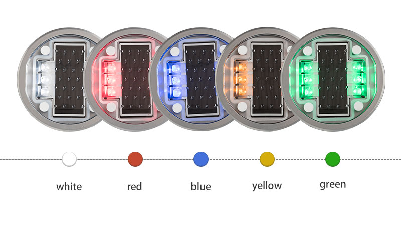 Cats Eyes LED Solar Stud for Road color