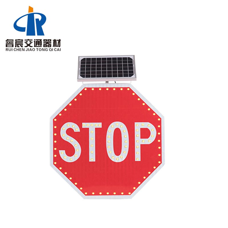 LED Solar Flashing Stop Signs