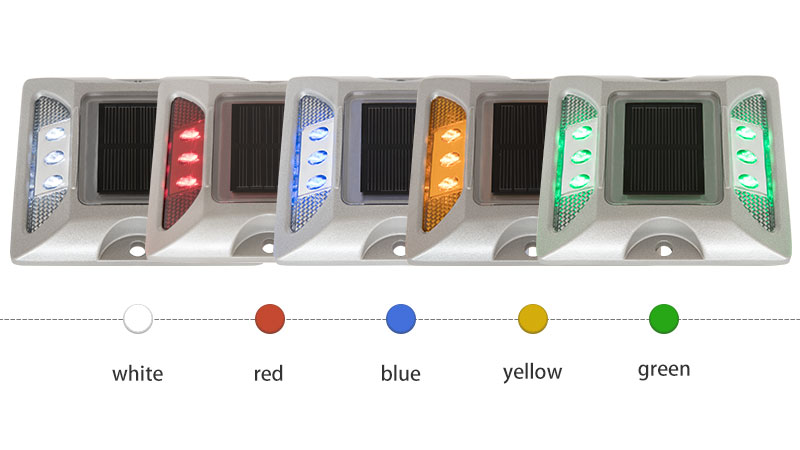 Raised LED Solar Stud For Road With Cheap Price COLOR
