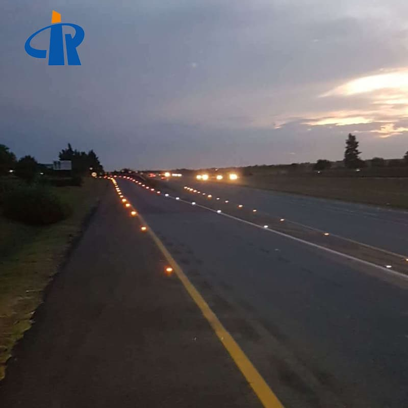 RUICHEN LED Solar Studs Are Installed In South Africa